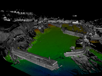 Ultrabeam Survey of Mevagissey Harbour